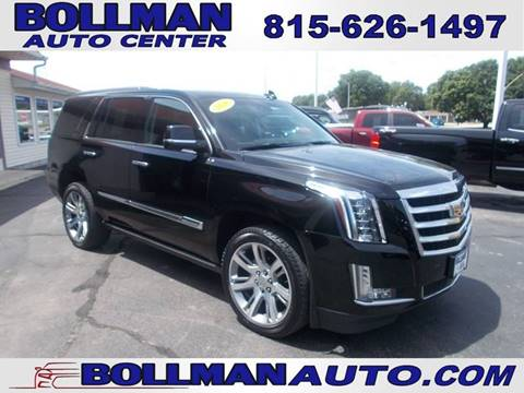 2016 Cadillac Escalade for sale at Bollman Auto Center in Rock Falls IL