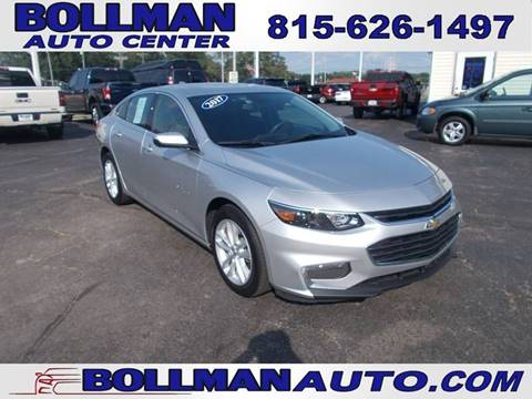 2017 Chevrolet Malibu for sale at Bollman Auto Center in Rock Falls IL