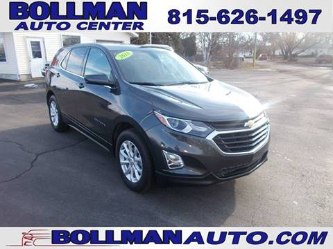 2018 Chevrolet Equinox for sale at Bollman Auto Center in Rock Falls IL