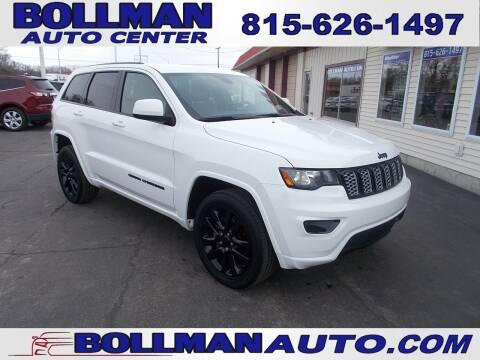 2017 Jeep Grand Cherokee for sale at Bollman Auto Center in Rock Falls IL