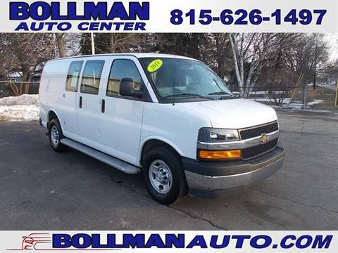 2018 Chevrolet Express Cargo for sale at Bollman Auto Center in Rock Falls IL