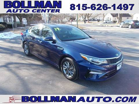 2019 Kia Optima for sale at Bollman Auto Center in Rock Falls IL