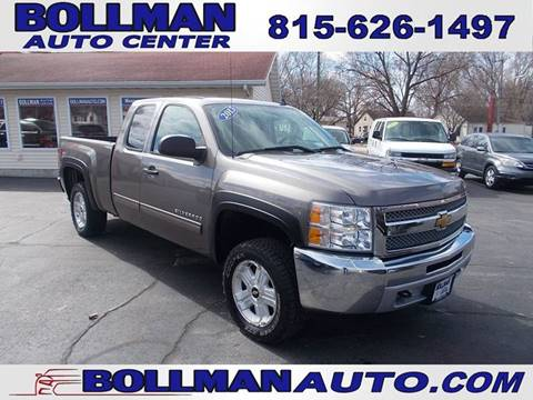 2013 Chevrolet Silverado 1500 for sale at Bollman Auto Center in Rock Falls IL