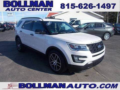 2017 Ford Explorer for sale at Bollman Auto Center in Rock Falls IL