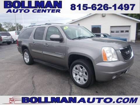 2007 GMC Yukon XL for sale at Bollman Auto Center in Rock Falls IL