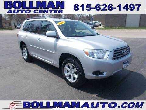 2009 Toyota Highlander for sale at Bollman Auto Center in Rock Falls IL