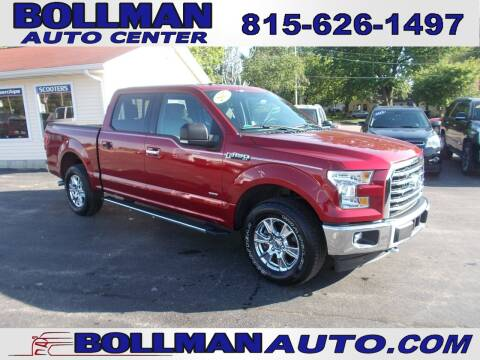 2017 Ford F-150 for sale at Bollman Auto Center in Rock Falls IL