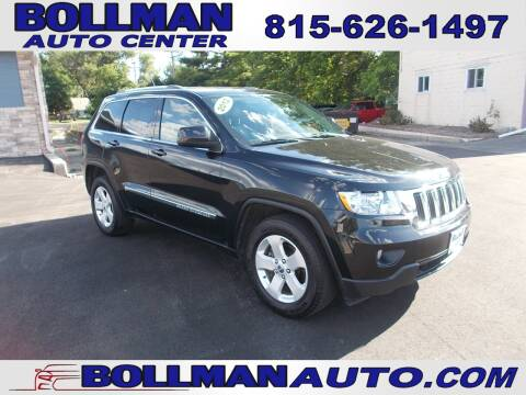 2012 Jeep Grand Cherokee for sale at Bollman Auto Center in Rock Falls IL
