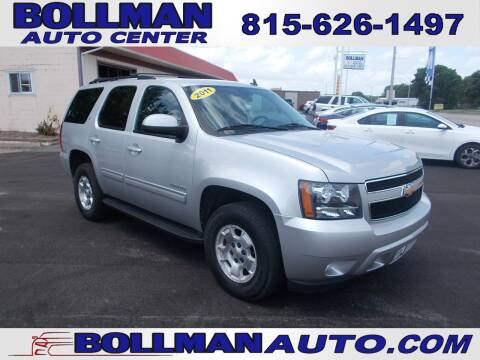 2011 Chevrolet Tahoe for sale at Bollman Auto Center in Rock Falls IL