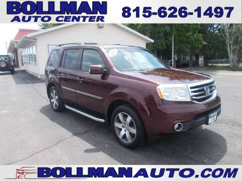 2012 Honda Pilot for sale at Bollman Auto Center in Rock Falls IL