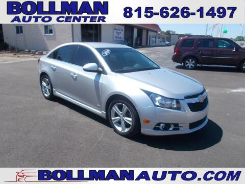 2014 Chevrolet Cruze for sale at Bollman Auto Center in Rock Falls IL