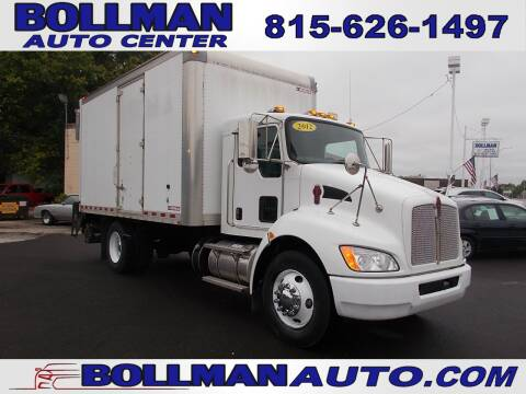 2012 Kenworth T270 for sale at Bollman Auto Center in Rock Falls IL