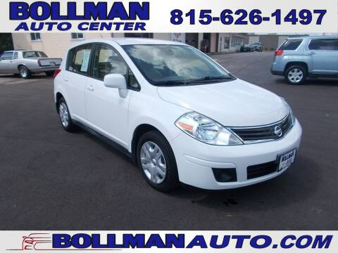 2010 Nissan Versa for sale at Bollman Auto Center in Rock Falls IL