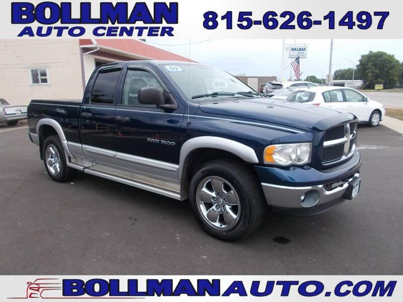2003 Dodge Ram Pickup 1500 for sale at Bollman Auto Center in Rock Falls IL