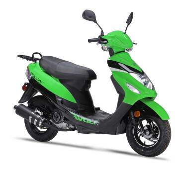 2021 Wolf Brand Scooters RX50 for sale at Bollman Auto Center in Rock Falls IL