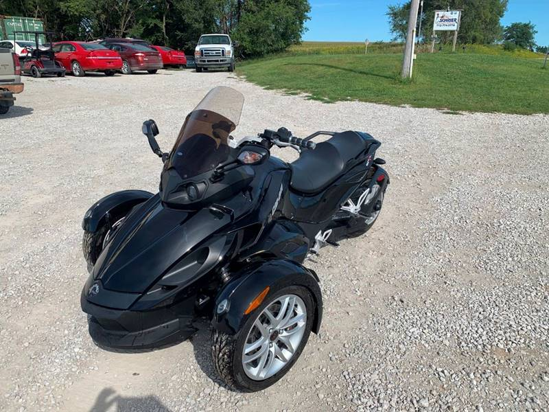 2014 Can-Am Spyder Roadster RS for sale at Schrier Auto Body & Restoration in Cumberland IA