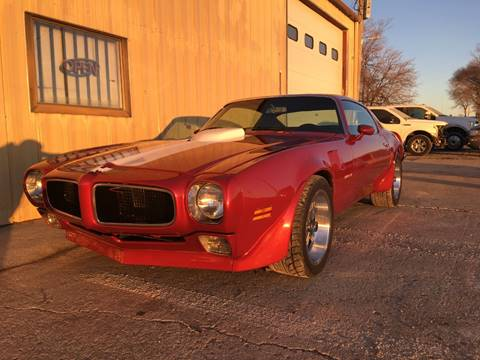 1970 Pontiac Firebird Trans Am for sale in Cumberland, IA