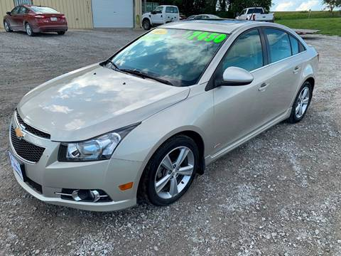 Cars For Sale In Iowa >> 2014 Chevrolet Cruze For Sale In Cumberland Ia