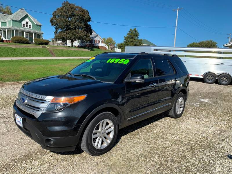 2015 Ford Explorer for sale at Schrier Auto Body & Restoration in Cumberland IA
