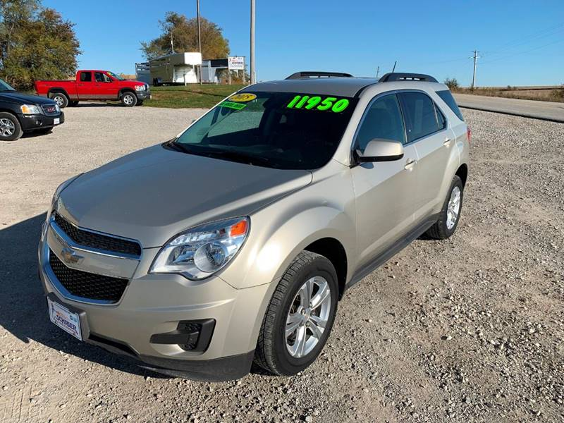 2015 Chevrolet Equinox for sale at Schrier Auto Body & Restoration in Cumberland IA