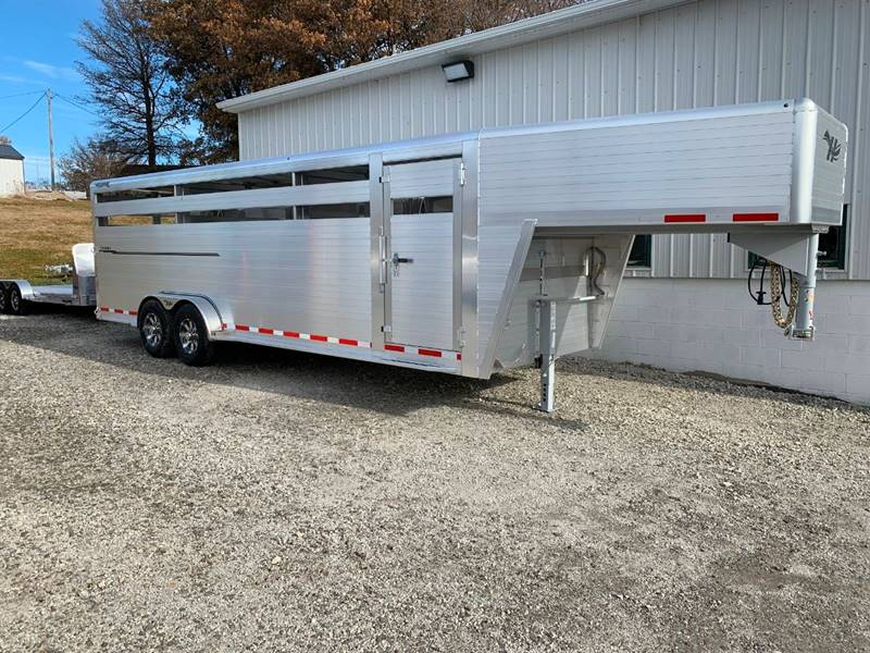 2020 Hillsboro Endura Livestock 24' T/A for sale at Schrier Auto Body & Restoration in Cumberland IA