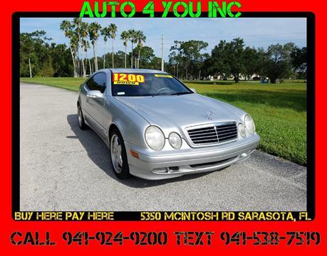 2000 Mercedes-Benz CLK for sale in Sarasota, FL