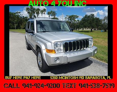 2008 Jeep Commander for sale in Sarasota, FL