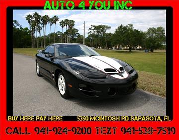 1999 Pontiac Firebird for sale in Sarasota, FL