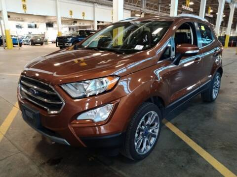 2019 Ford EcoSport Titanium for sale at PIERRE FORD in Seattle WA