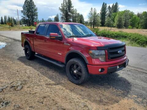 2013 Ford F-150 for sale at PIERRE FORD in Seattle WA