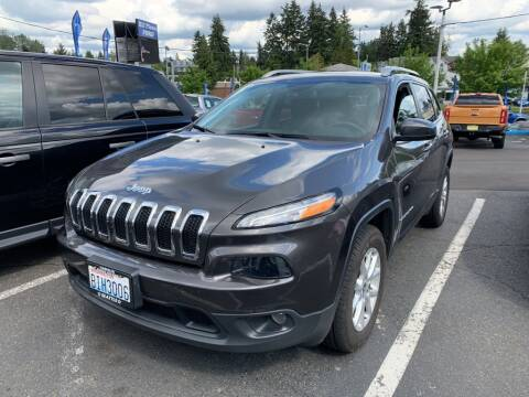 2018 Jeep Cherokee Latitude Plus for sale at PIERRE FORD in Seattle WA