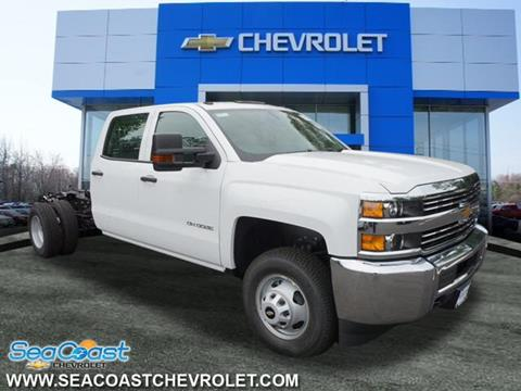 2018 Chevrolet Silverado 3500HD CC for sale in Ocean Township, NJ