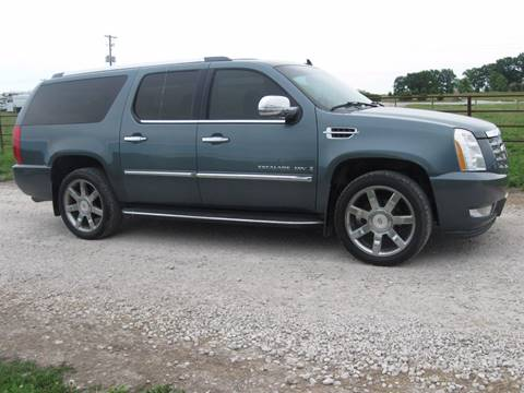 2008 Cadillac Escalade ESV for sale at The Ranch Auto Sales in Kansas City MO