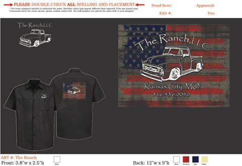 2020 The Ranch shirt The Ranch LLC for sale at The Ranch Auto Sales in Kansas City MO