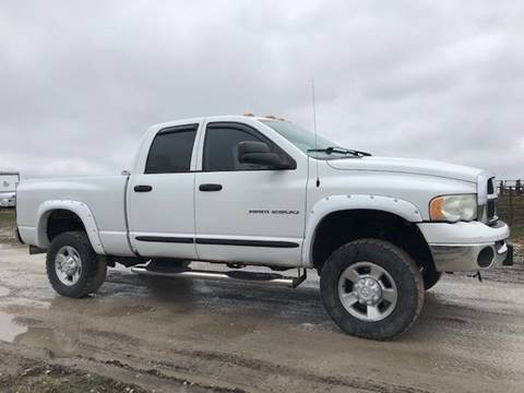 2004 Dodge Ram Pickup 2500 for sale at The Ranch Auto Sales in Kansas City MO
