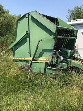 1999 John Deere Round Baler 510 for sale at The Ranch Auto Sales in Kansas City MO