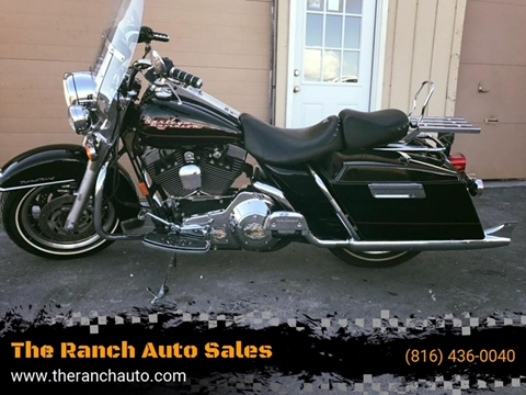 2002 Harley-Davidson Road King for sale at The Ranch Auto Sales in Kansas City MO