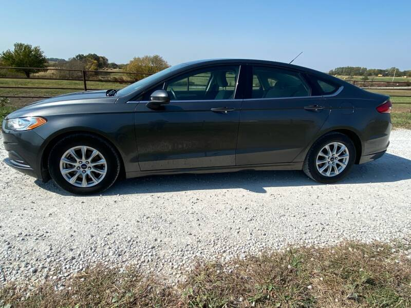 2017 Ford Fusion for sale at The Ranch Auto Sales in Kansas City MO