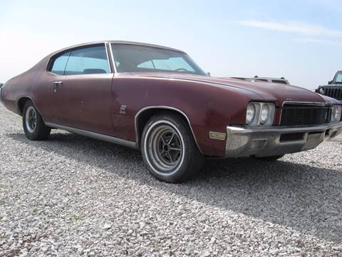 1971 Buick Gran Sport for sale at The Ranch Auto Sales in Kansas City MO