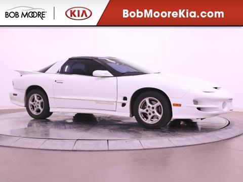 2001 Pontiac Firebird for sale in Oklahoma City, OK