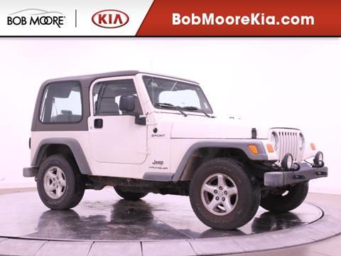 2004 Jeep Wrangler for sale in Oklahoma City, OK
