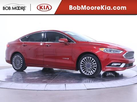 2017 Ford Fusion Hybrid for sale in Oklahoma City, OK