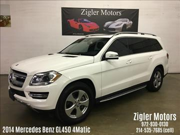 2014 Mercedes-Benz GL-Class for sale in Addison, TX