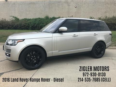 2016 Land Rover Range Rover for sale in Addison, TX