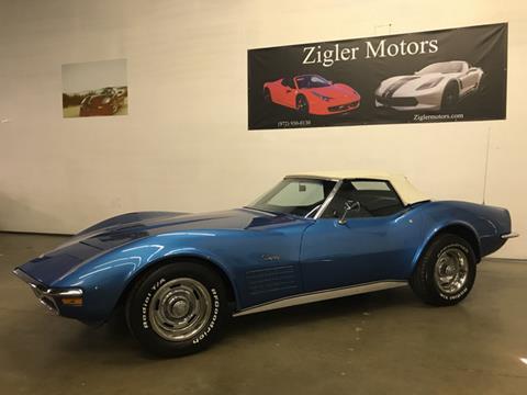 1971 Chevrolet Corvette for sale in Addison, TX