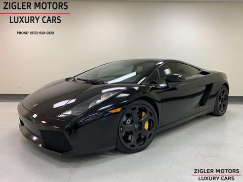 Used Lamborghini Gallardo For Sale In Leesburg Va Carsforsale Com