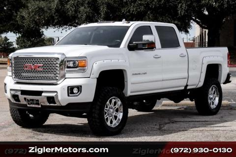 2016 GMC Sierra 2500HD for sale in Addison, TX