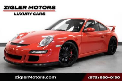 2007 Porsche 911 GT3 for sale at Zigler Motors in Addison TX