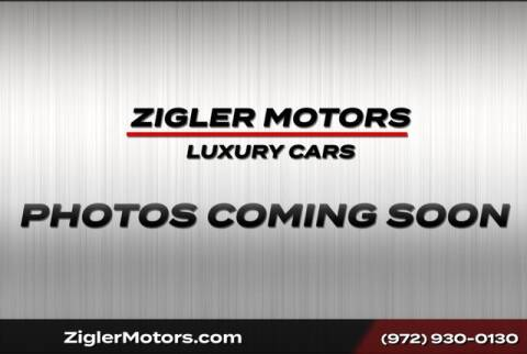 2014 Porsche Cayenne GTS for sale at Zigler Motors in Addison TX