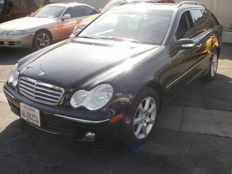 2005 Mercedes-Benz C-Class for sale at E.T. Auto Sales Inc. in El Monte CA